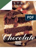 Nestle - Postres Con Chocolate