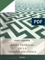Base Teoricas de La Terapia Sistematicas