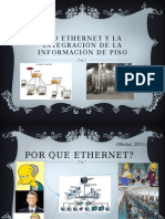 Red Ethernet y La Integración de La Información