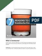 Seven Reason to Drink Kombucha Everyday