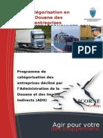 Plaquette Categorisation Douane