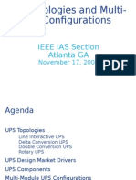2008-11 UPS Topologies and Multi-Module Configurations