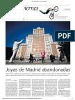 Joyas de Madrid abandonadas (El País - 20/03/2015)