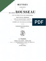 Rousseau Cartas Tomo 2 y 21 Obras Completas