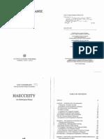 Rosenkrantz Haecceity an Ontological Essay