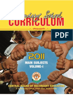 Secondary School Curriculum 2011