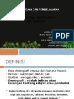 2)Jenis Dan Demografi Kelompok