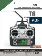 FlySky FS-T6 Manual
