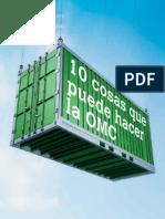 3. Organismo Mundial de Comercio