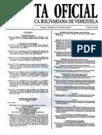 Sumario Gaceta Oficial 39.355