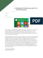Cara Aktivasi Windows 8 Enterprise Dan Pro Asli Permanen