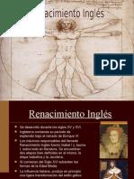 Renacimiento Inglés