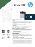 HP LaserJet Pro 400 color M475 MFP