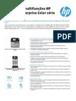 Impressora multifunções HP Officejet Enterprise Color série X585