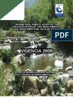 Informe Ejecutivo Estado de Los Recursos Naturales 2008
