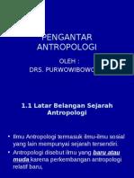 Pengantar Antropologi