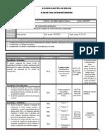 Plan y Programa de Evaluacion Bloque v FCYE II