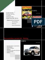 Scorpio Case Study