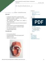 Prevención de Maloclusiones_2_ Arco Lingual - Indicaciones - Contraindicaciones