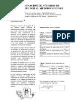 Metodo Hittorf Informe Final