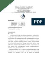 Informe Unidad III Organización