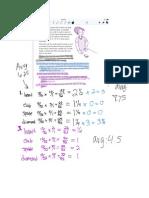 probability classwork in notability