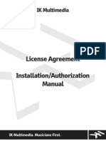 Install and Authoriation Manual