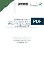 Ordenamiento EPS 20 Diciembre