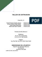 Taller de Extrusion