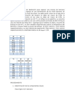 Problema de Destilacion Firme