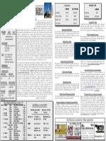 St. Michael March 22, 2015 Bulletin
