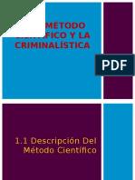 1 Metodo Cientifico y La Criminalistica