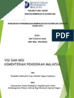 Draf Taklimat Awal Tahun 2015 Perkhidmatan Bimbingan Dan Kaunseling 2015 (2)