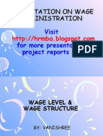 Wage Determination Process
