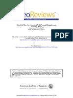 NeoReview Metabolic Dis Hypoglycemia 2004