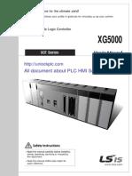 User Manual XG5000 for XGK XBG [Unlockplc.com]