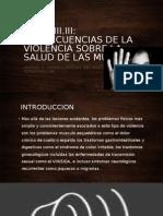 3.3 Violencia Sobre La Salud