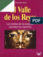 El Valle de Los Reyes de Christian Jacq r1.0