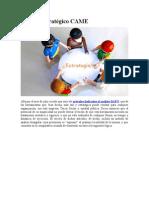 Análisis estratégico CAME.doc