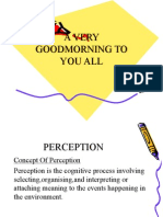 Presentation Perception