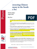 Counteracting Chinese Hegemony in the South China Sea by M. Baker