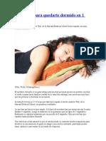 La técnica para quedarte dormido en 1 minuto.doc