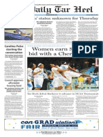 The Daily Tar Heel for March 24, 2015