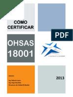 Como Certificar Ohsas 18001
