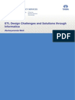 ETL Design Challenges and Solutions Through Informatica