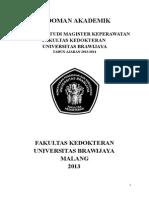 Buku Pedoman Akademik SPMK TA 2013 2014