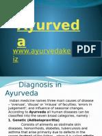 diagnosisinayurvedaayurvedamedicine