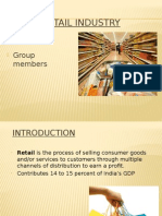 Retail Industry ppt