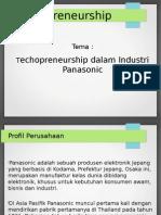 Technopreneurship dalam Industri Panasonic