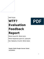 WTF Evaluation Fdback.doc